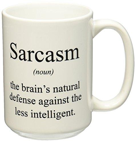 3dRose mug 173338 2 Sarcasm Intelligent 15 Ounce