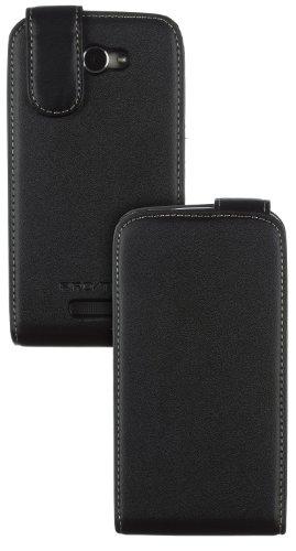 Case It CSHTC1XFBK Premium Leder-Schutzhülle für HTC One X schwarz