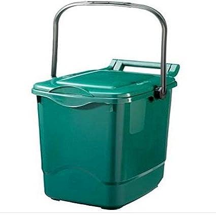 Verde para reciclaje de residuos de alimentos (23 L) 23L biodegradables/alimentos comer