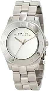 Marc by Marc Jacobs Blade White Dial Stainless Steel Ladies Watch MBM3125