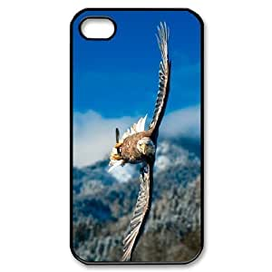 Bald Eagle Use Your Own Image Phone Case for Iphone 4,4S,customized case cover ygtg578971