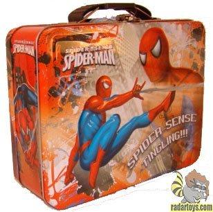 (Spider-Man - Tin Lunch Box [Spider Sense])