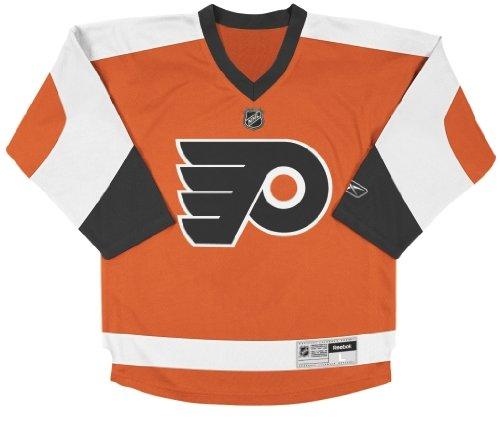 NHL Philadelphia Flyers Replica Youth Jersey, Orange, Large/X-Large ()