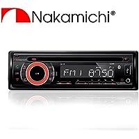 Nakamichi NA105 Car In-Dash AM/FM/CD/MP3/USB/Bluetooth Receiver