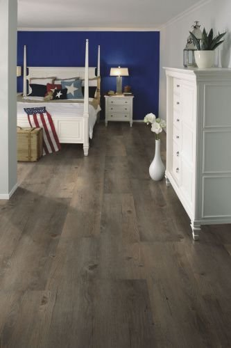 Klebe Vinylboden wineo 600 wood Toscany Pine Grey