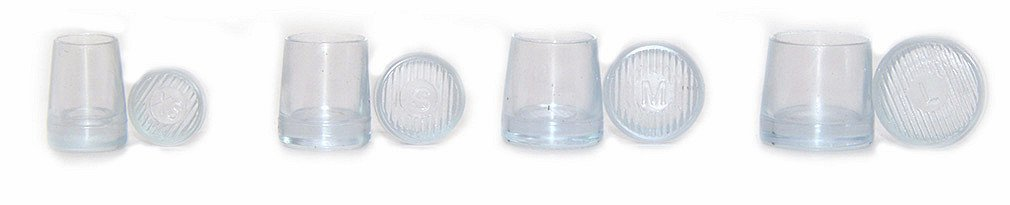 4 Pairs XS/S/M/L High Heel Protectors for Grass Mud,Races, Weddings, Formal Occasions