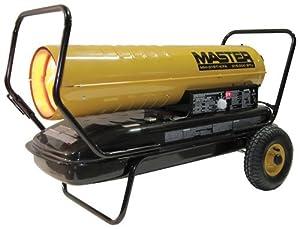 Master Heaters Heater Forced Air Kero 215K BTU #MH-215T-KFA