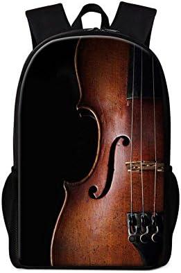 Violin Print Backpack
