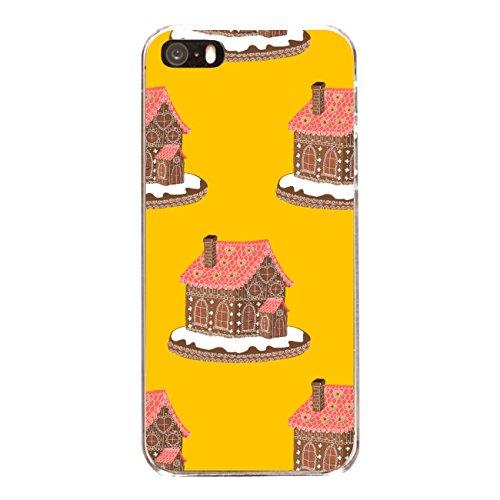 """Disagu Design Case Schutzhülle für Apple iPhone SE Hülle Cover - Motiv """"Lebkuchenhaus - Gelb"""""""