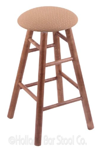 Maple Extra Tall Bar Stool in Medium Finish with Axis Summer - Wood Pub Finish Bar Maple