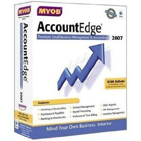 Myob Accountedge 2009 for Mac Includes Network Edition