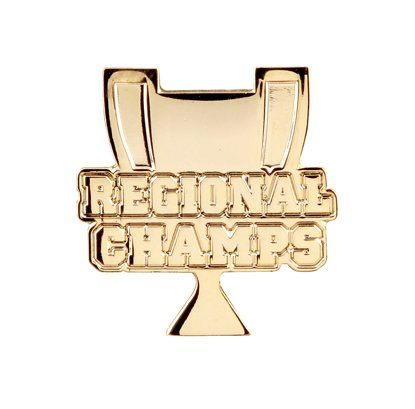 Pack of 250 Regional Champs Lapel Pins