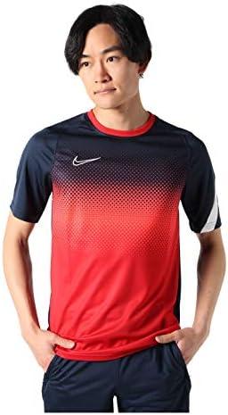 メンズ サッカー プラクティスシャツ ACD GX FP S/S トップ オブシディアン/ホワイト CJ9917 451