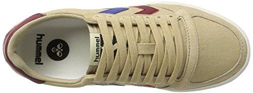 Bourdons Baskets High-top Unisexe Adulte - Mince Toile Duo Stadil Salut - Lin Ciré Chaussures / Daim - Chaussures De Sport Couleurs Div. - Baskets Beige Respirant (nomade)