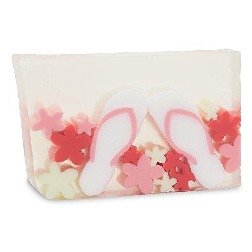 Primal Elements Soap, Flip Flops, 2 Pack, Minimum 6 Oz. Each, Pink