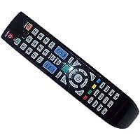 Replaced Remote Control Compatible for Samsung UN55B6000VFXZA LN32B650T1FXZA LN32B530P7FXZX PL50A550S1F LN46B500P3F PN42B400P3DXZA TV