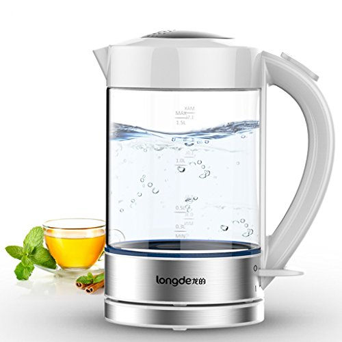 Maxbell-Portable-Electric-Glass-Kettle-Multipurpose-1800W-Suitable-for-Travel-Car-Home-Use-15-Litre-White