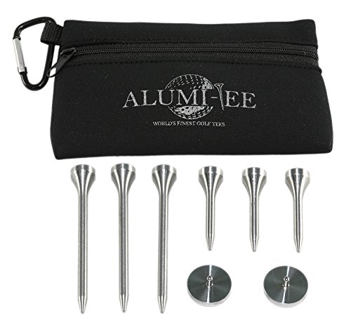 (Aluminum Golf Tees (Pouch with Variety)