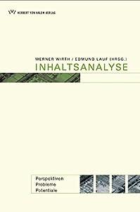 Paperback Inhaltsanalyse [German] Book