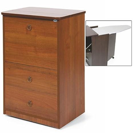 Tabla de planchar con mueble de madera con 3 cajones de ...