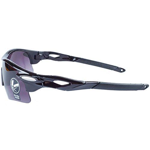 Gafas Deportes De La Gafas Bicicleta Libre Al Gafas Aire Ciclismo de Moda Negro Sol Para ANVEY Pesca Gris Conducción Montura De Lentes wCqv57xn
