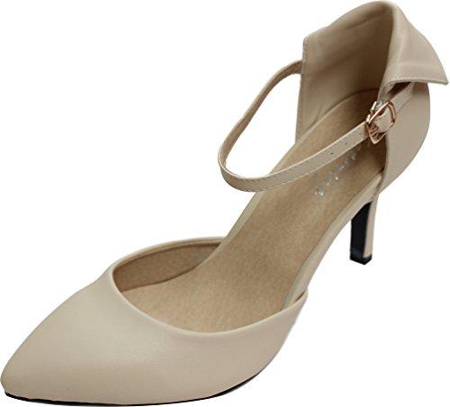 CFP - Zapatos de tacón  mujer Beige