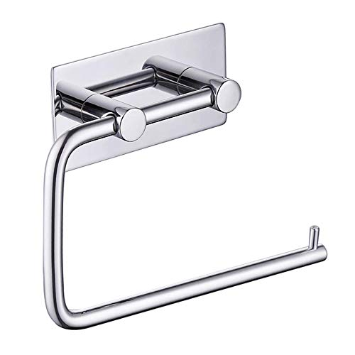 KES Self Adhesive Toilet Paper Holder Tissue Paper Roll Towel Holder RUSTPROOF Polished Stainless Steel, A7070-1