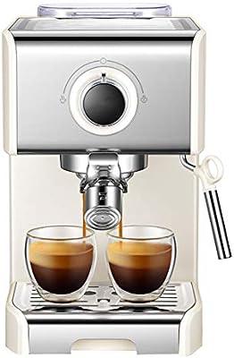 HBBenz Cafetera Espresso,20 Bar, Capacidad 1.2L, Espumador de ...
