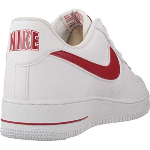 Gym De Force 1 Multicolor Hombre Zapatillas 102 Air Red white Baloncesto 3 Para '07 Nike 7Ygpwq7