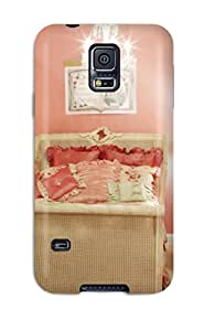 Galaxy S5 EfmNiWS4227AMvSk Pink Kids8217 Bedroom With Shabby Chic-style Furniture Tpu Silicone Gel Case Cover. Fits Galaxy S5