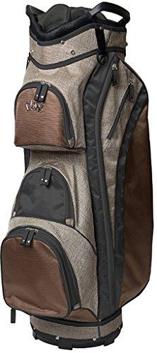 (Glove It Women's Golf Bag Ladies 14 Way Golf Carry Bag - Golf Cart Bags for Women - Womens Lightweight Golf Travel Case - Easy Lift Handle - 2018 Mixed Metal )