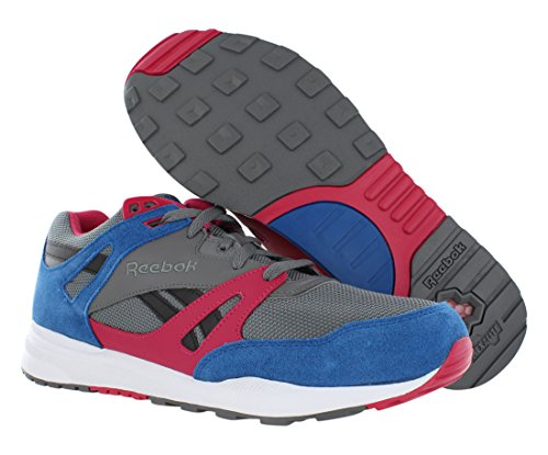 Reebok Ventilator Mens Running Shoe Medio Grigio-persiano Blu-magenta Pop-whi
