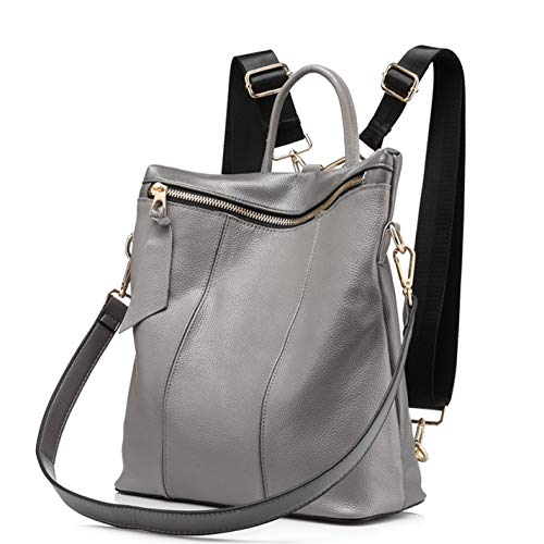 Backpack Large Women's Shoulder Bag Crossbody Gray Travel 7w4qwxSAE