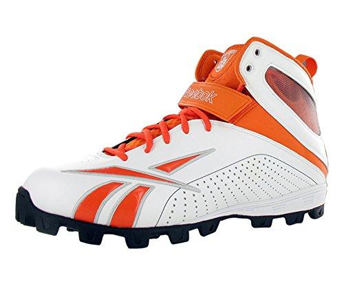 Zapatillas De Fútbol Reebok Pro Workhorse Atf Fb Turf Para Hombre (12.5, Blanco / Naranja)