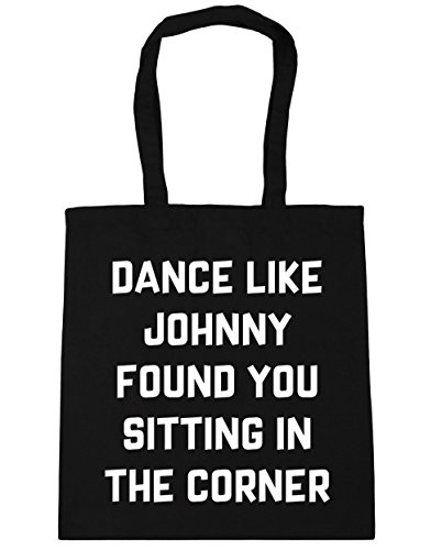 Beach litres Shopping Gym in 42cm Corner 10 Like x38cm Bag You Sitting Johnny Tote Found HippoWarehouse Black Dance the 7gRqqT