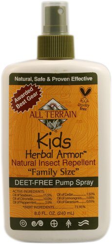 All Terrain Kids Herbal Armor Natural Insect Repellent Spray - Family 8 fl oz (240 ml) Liquid