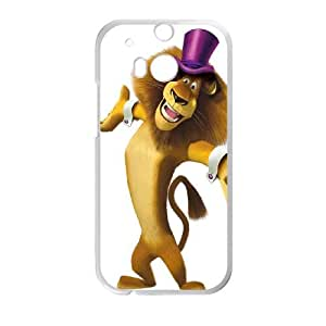 Madagascar HTC One M8 Cell Phone Case White Qlsxb