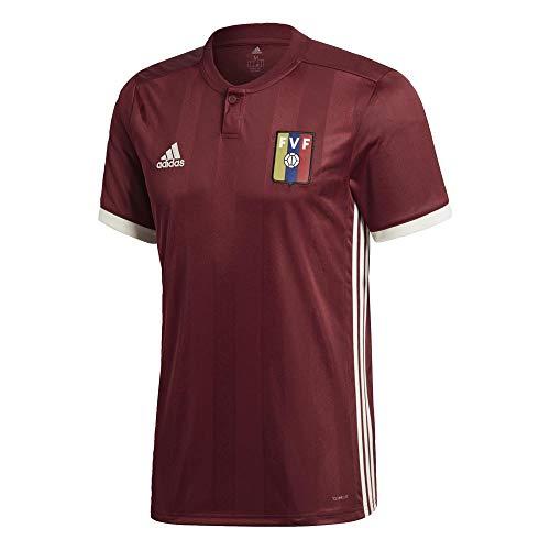 adidas Venezuela Home Shirt 2017/19-Medium Adults ()
