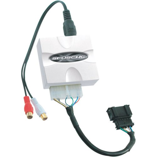 (Scosche AXCR Factory Radio Auxiliary Interface for Chrysler)