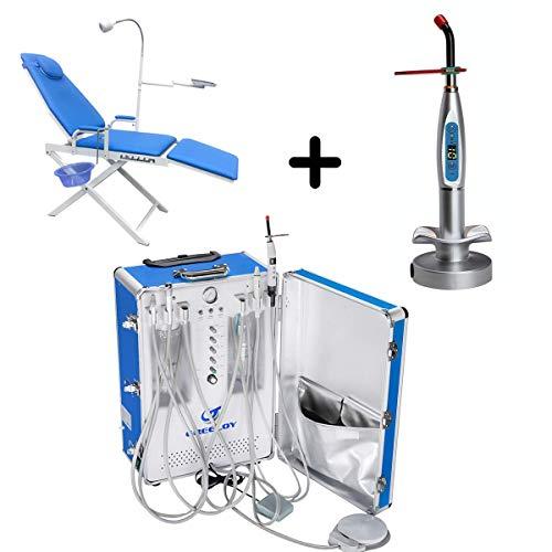 [해외]Alkita Portable Chair Unit with Air Compressor Unit + Light Lamp All IN One Set 4H / Alkita Portable Chair Unit with Air Compressor Unit + Light Lamp All IN One Set 4H