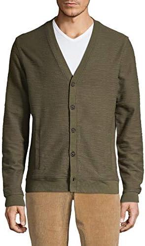 メンズ ニット、セーター V-Neck Button Cardigan [並行輸入品]