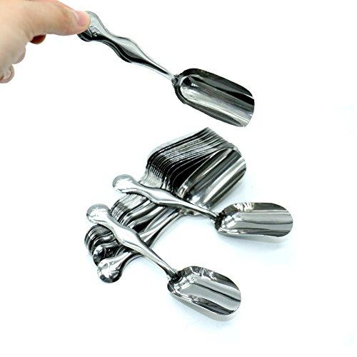 Teaspoon Stainless Steel Scoop - 7