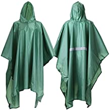 JTENG Rain Poncho, Waterproof Raincoat Hoods Concerts,Camping,Hiking,Cycling