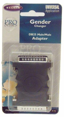 (Belkin F4A252 Gender Changer; DB25M/DB25M)