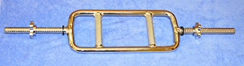 Solid Threaded Triceps Bar with Collars