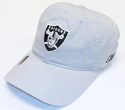 Oakland Raiders Basic Logo Flex Slouch Reebok Hat - Osfa - E854Z (Flex Hat Slouch)