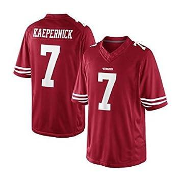 f069e9dc7 Mens San Francisco 49ers Colin Kaepernick  7 Scarlet Team Color Limited  Jersey - Mens(L)  Amazon.ca  Sports   Outdoors