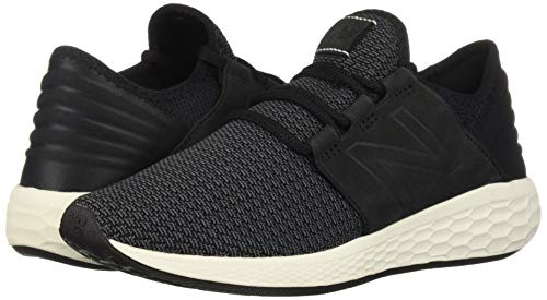 New Balance Women's Cruz V2 Fresh Foam Running Shoe Black/Magnet 5 B US by New Balance (Image #6)