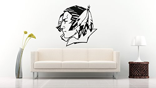North Dakota Fighting Sioux NCAA Sport Fans Original Decal Room Garage Decor Sticker (Black) (Sioux Window Decal compare prices)