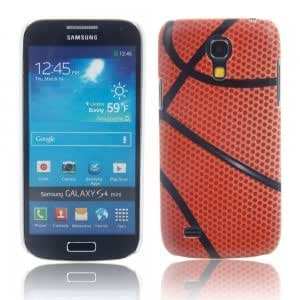 Unique Colorful Plastic Protective Case with Basketball Pattern for Samsung S4 Mini i9190